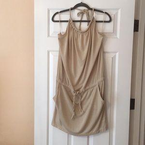 Halter dress swimsuit coverup szL